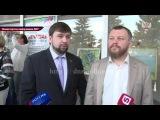 Пресс-подход Андрея Пургина и Дениса Пушилина