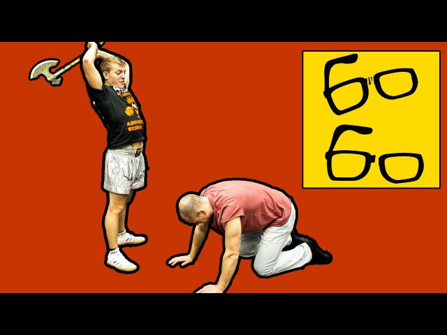 Как бить рубящий удар ногой сверху axe kick удар нога топор урок кикбоксинга Юрия Караваева
