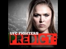 UFC Fighters Predict Ronda Rousey vs. Bethe Correia