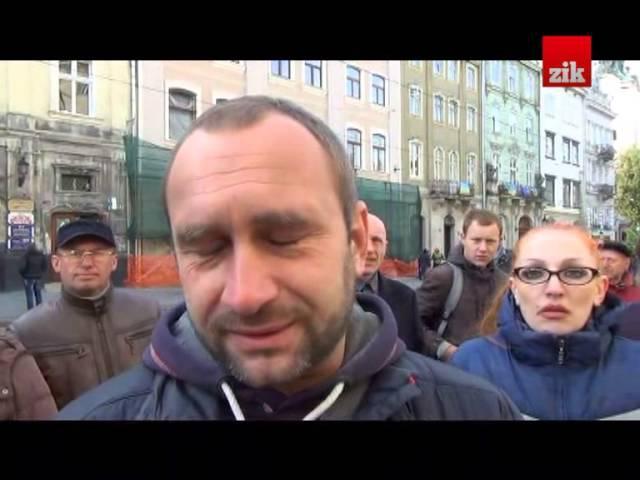 Селяни з Рясне-Руського увірвалися до міськради Львова, щоб захистити свої городи
