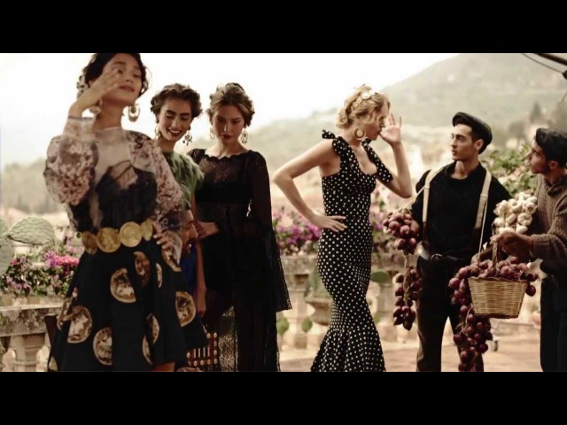 Dolce Gabbana SS14 Women's Ad Campaign Backstage