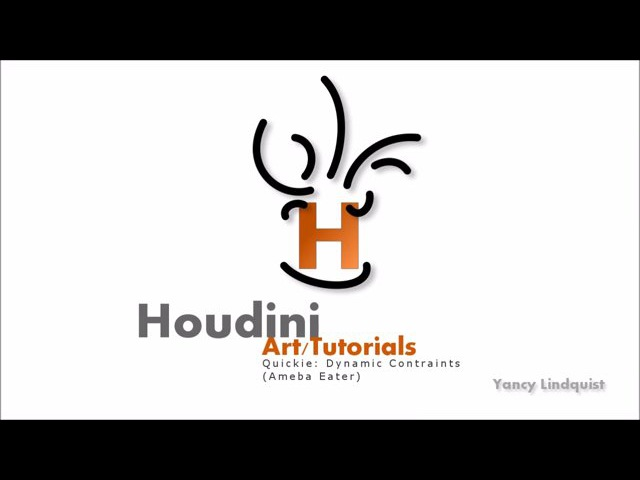 Houdini Quickie: Dynamic Constraints (Ameba Eater)