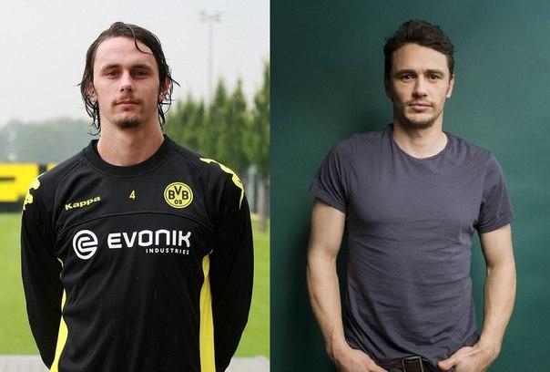 Известные футболисты и их двойники (фото)