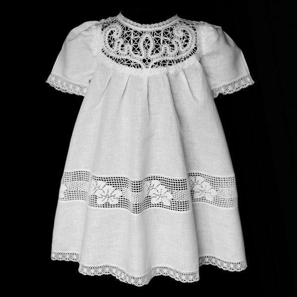 Крестильные платья своими руками
