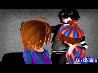 【MMD x FNAF】Wannabe 【Balloon Boy and Balloon Girl】