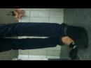 My black teen very smelly adidas socks