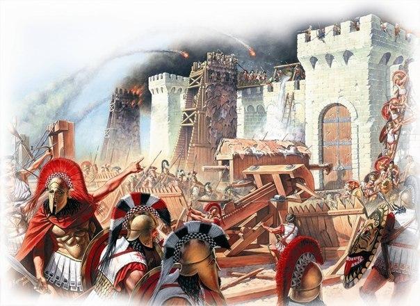 Как Пелопид  захватил два города без боя.