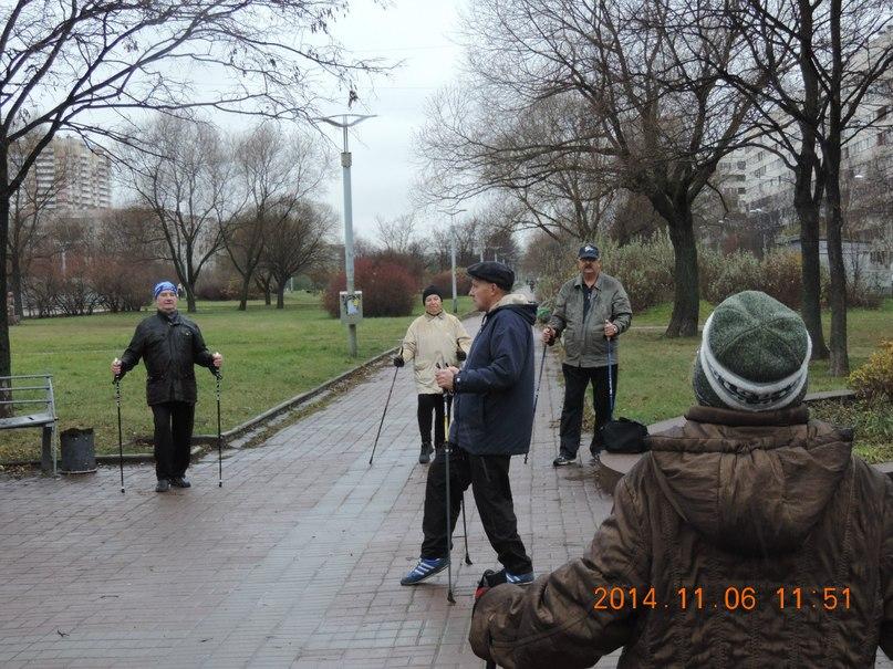 Группа «Возрождение» на занятиях в парке на Турку, 20