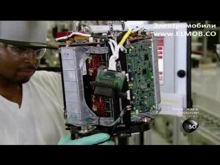 Tesla САМОЕ ИНТЕРЕСНОЕ ВИДЕО Как ПРОИЗВОДЯТ электромобиль Тесла завод Tesla Model S двигатель