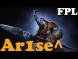 Dota 2 - Ar1se^, Dread, Lod[A] And Others Players 5500+ MMR Plays Faceit Pro League Eu