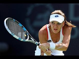 EASTBOURNE 2015 Agnieszka Radwanska vs Karolina Pliskova Highlights [HD 720p]