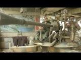 В пригородах Дамаска снайперы сирийской армии ведут огонь по позициям боевиков - Первый канал