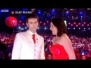 David Tennant Kisses Davina McCall - Red Nose Day 2009 - Comic Relief - BBC