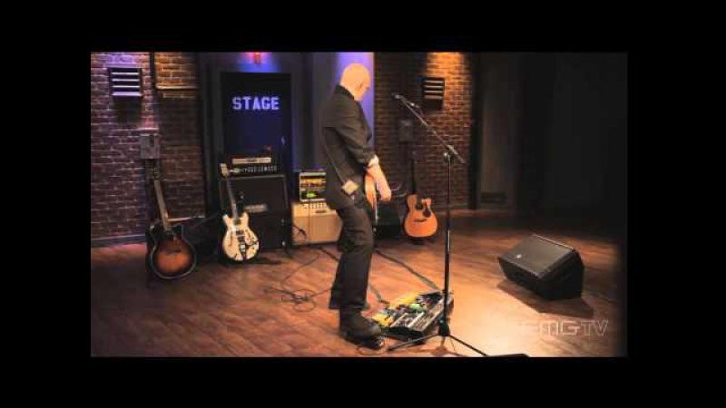 Devin Townsend performs Kingdom for EMGtv