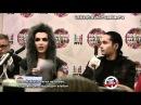 Пресс-конференция Tokio Hotel с русскими субтитрами, часть 3