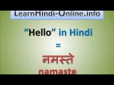 How To Say Hello In Hindi