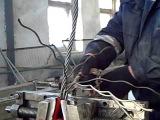 плетение троса в петлю