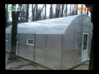 Отопление теплицы инфракрасными обогревателями Билюкс