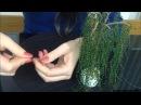 ИВА из БИСЕРА. TUTORIAL: Beaded willow. БИСЕРОПЛЕТЕНИЕ для НАЧИНАЮЩИХ