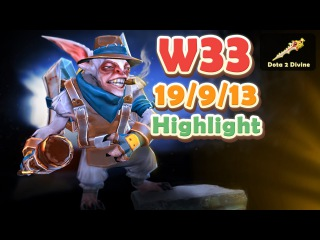 W33 Meepo Ranked Matchmaking Highlight
