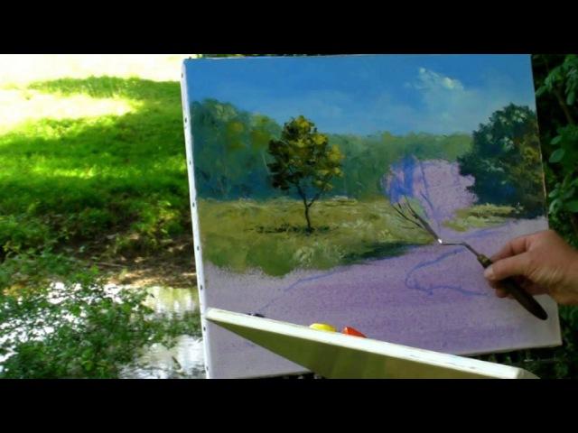 Le Rognon à la Crete- Pascal CLUS Peinture au couteau Painting knife