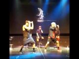 [VK] [13.05.15] Шону и Минхек танцуют @ 1-ый дебютный шоукейс