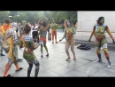 Over 100 Body Painted Naked People Dance In NYC Streets to Celebrate Body Acceptance HD