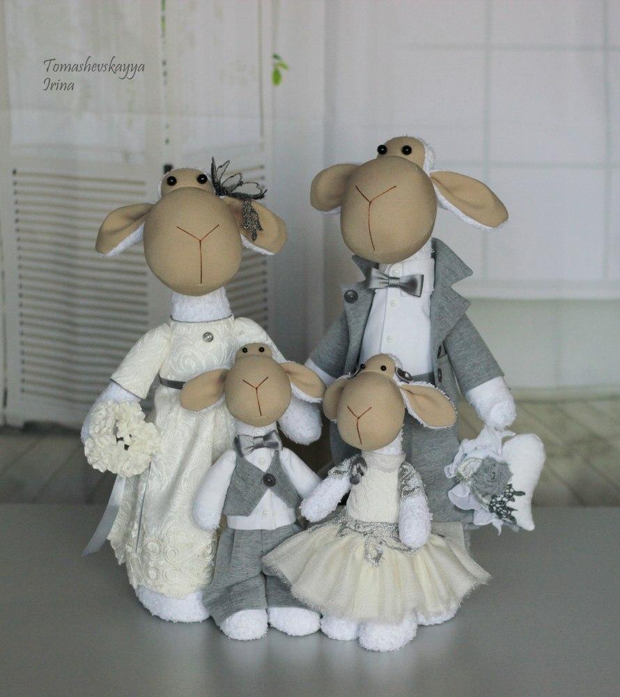 свадебные овечки