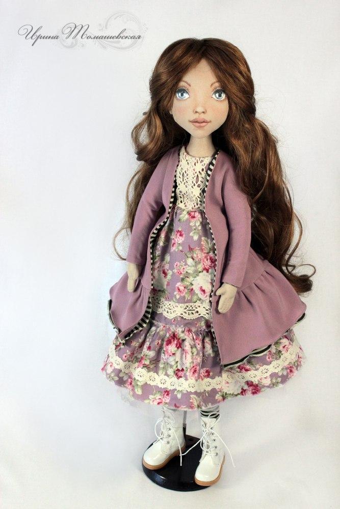текстильные кукры ирины томашевской