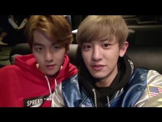 [VIDEO] 150512 EXO Making film @ Baskin Robbins Movie Theatre