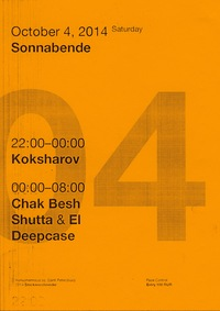 SS w/ Chak Besh (Germany) @ Stackenschneider