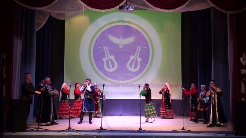 Народный фольклорный ансамбль Асанай занял первое место в конкурсе кубызистов и исполнителей горлового пения
