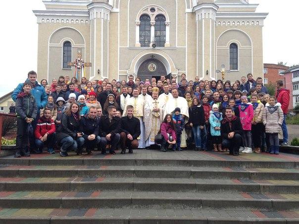 """З'їзд """"Української молоді – Христові""""  в м. Калуші!"""
