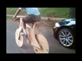 Best Bicycle made of Wood, The Wooden Bicycle - HomeMade Wood Bike