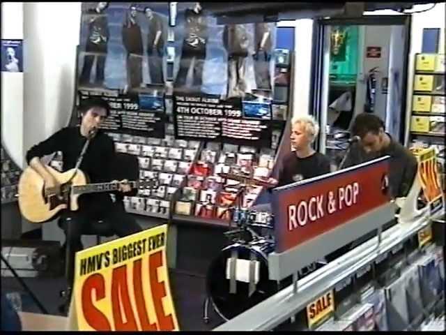 Muse - Sunburn Acoustic - HMV Bristol 1999