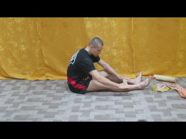 Тайский бокс - как сделать себе стальные голени Набивка\накатка.