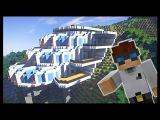 Красивый ГРАНД ОТЕЛЬ на скале - Серия 18.1 - Minecraft - Строительный креатив 2