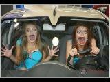Девушки за рулем! Опасно и непредсказуемо!