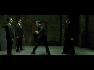 The Matrix Reloaded - The Upgrades Fight - The Full Scene