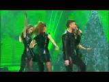 Юлия Савичева и Сергей Лазарев - Moves like jagger (Новогодняя ночь на Первом) FullHD