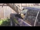 RoadRage Ru Водительская разборка в Казани Залили бетон в машину обидчика