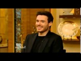 """Live! With Kelly and Michael Interview RICHARD MADDEN upcoming movie Disney's """"Cinderella"""""""