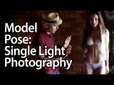 Model Pose: Single Light Photography