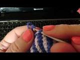 Следки тунисское вязание.Как научиться вязать. Уроки вязания для начинающих