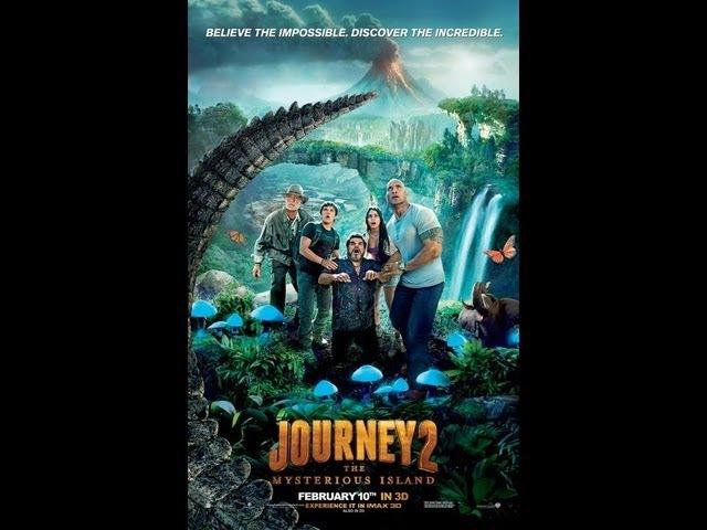 Путешествие 2: Таинственный остров. Русский трейлер. HD