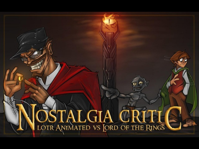 Old Vs. New: LOTR Animated Vs. Lord of the Rings [Nostalgia Critic 71 - RUS RVV]