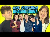 Kids React to One Direction - Drag Me Down