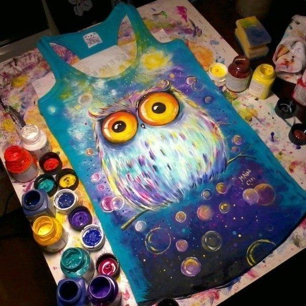 Рисунок красками своими руками