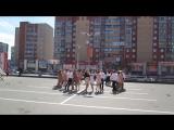 Флешмоб на День Победы от молодежи г.Дубны