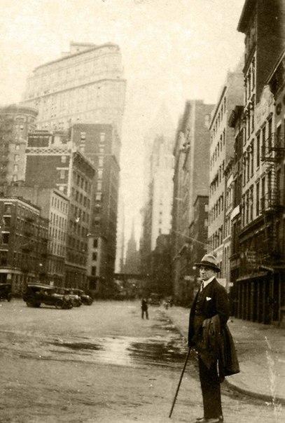 Владимир Маяковский в Нью-Йорке